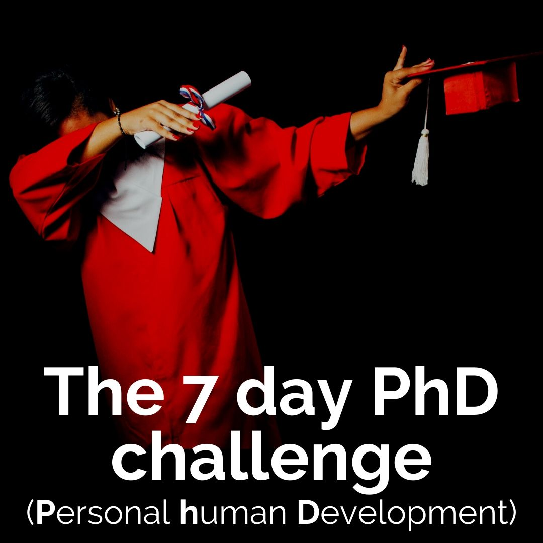 Dwell 7 Day PhD Challenge